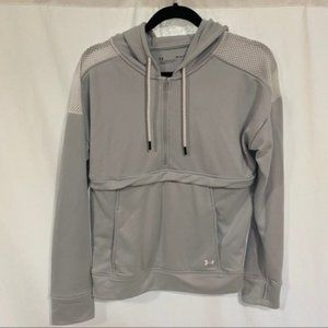 Under Armour Women's UA Tech Terry Gray Hoodie Med
